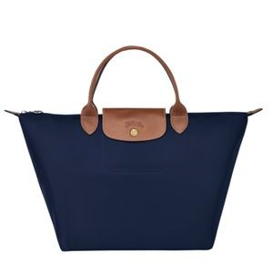 Longchamp le pliage small tote bag, navy NWOT